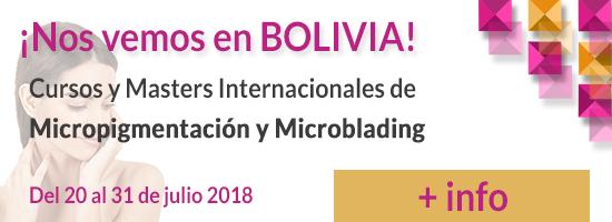 Cursos Micropigmentación Bolivia